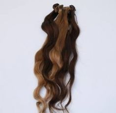 Layered hair extensions are recommended when adding length and volume for short hair extensions. It saves the stylist much time in thinning and texturing the hair extensions to look like natural hair growth.  Check out our Layered hair extensions: http://ow.ly/bveFi short hair, hair growth, layer hair, hair extens, layered hair