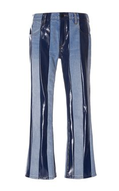 Striped Cropped Jeans by ALEXANDER WANG for Preorder on Moda Operandi