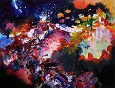 Karma Police by Radiohead - Melissa S. McCracken - http://ledgernote.com/blog/life/musical-synesthesia-paintings-by-melissa-mccracken/