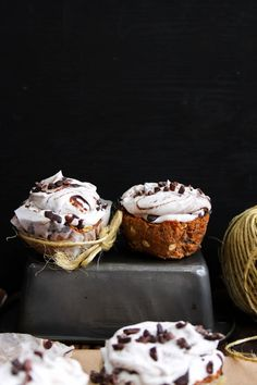 This Rawsome Vegan Life: CARROT CAKE CUPCAKES with WHIPPED COCONUT CREAM + CHOCOLATE