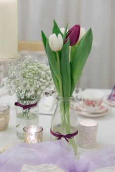 All Decor and Styling provided by Crow Hill Weddings. Fresh Flowers provided by Roxanne at Lily Blossom. Fresh Flowers, Crow, Glass Vase, Lily, Pearls, Weddings, Elegant, Vintage, Home Decor