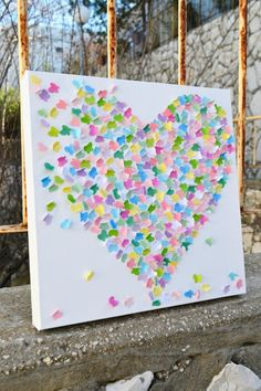Sweet Candy - 3D Butterfly Wall Art /  Butterfly Art / Baby Girl Nursery Art / Baby Shower Gift / Girls Room / MADE TO ORDER via Etsy
