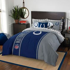 Indianapolis Colts The Northwest Company Soft & Cozy 7-Piece Full Bed in a Bag Set - $149.99