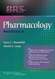 BRS Pharmacology (eBook Rental)