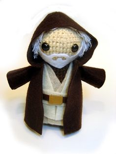 Obi-Wan Kenobi Amigurumi by Sammi Resendes