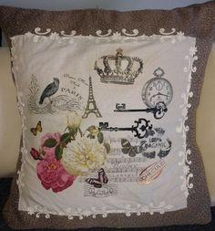 PROYECTO PASO A PASO - Almohadón con Técnicas Textiles