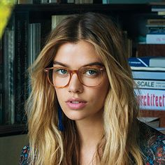Oliver Peoples | Scheyer Semi-Matte LBR Optical Eyewear by Oliver Peoples