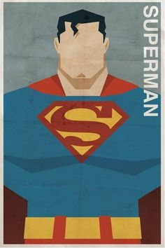 Vintage-Style Superhero Posters by Michael Myers | Apartment Therapy