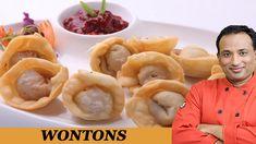 Chinese Fried Vegetable Wontons  -  Veg  Dumpling