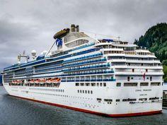CORAL PRINCESS Ship Tracker, Princess Cruises, Sail Away, Panama, Alaska, Sailing, Coral, Cruise Ships, Vacation Ideas