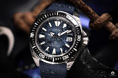 """Watch Blog Watch Review Seiko Prospex Samurai SRPF79K1 Save the ocean Special Edition is one of the most sought-after Seiko watches in the """"Save the Ocean"""" edition. #seiko #watchblog #watchreview #seikosamurai #samurai #SRPF79K1 #safetheocean #seikoprospex #prospex"""