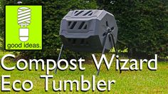 The Compost Wizard Eco Tumbler is an affordable composter with some great features. Sized to accommodate the needs of a small to average sized garden, the du. Composters, Tumbler, I Am Awesome, Outdoor Decor, Projects, Log Projects, Drinkware, Compost, Mugs