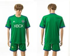 2014-2015 Seattle Sounders Home Green Soccer Jerseys