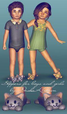 Dasha Kirilova: Slippers for toddler ^^