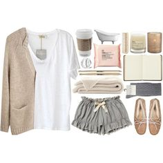I'm feeling suuper sick today :( So I made a set to match my feels. Cute Lazy Outfits, Casual Outfits, Fashion Outfits, Womens Fashion, Sick Day Outfit, Outfit Of The Day, Lounge Outfit, Lounge Wear, Botines Casual