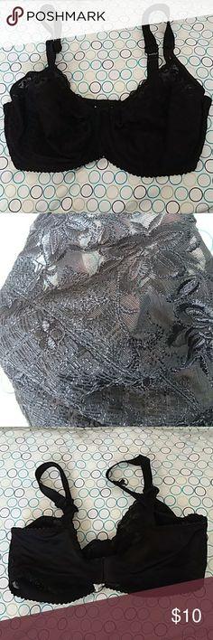 Bali black lace underwire bra size 36d Bali black lace bra size 36d. Guc. Smoke free pet friendly home. 36d bra underwire black lace Bali bali Intimates & Sleepwear Bras
