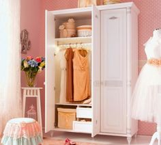 Closet Designs, Closet Organization, Organization Ideas, Kid Beds, Decoration, Kids Room, Entryway, Romantic, Curtains