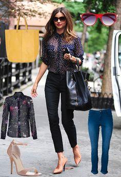 Get The Look: Miranda Kerr - Famous Magazine - Yahoo! New Zealand Lifestyle