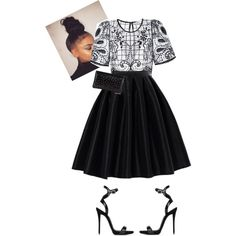 A fashion look from June 2016 featuring Miss Selfridge tops, Chicwish skirts and Giuseppe Zanotti sandals. Browse and shop related looks.