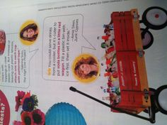 HGTV June 2013 issue. Beverage wagon idea.