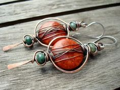 Hey, I found this really awesome Etsy listing at https://www.etsy.com/listing/233812555/boho-earrings-boho-jewelry-red-earrings