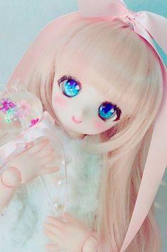 I'm kawaii Sylveon♡ Kawaii Doll, Kawaii Cute, Kawaii Anime, Anime Chibi, Tv Anime, Anime Plus, Pretty Dolls, Beautiful Dolls, Monster High