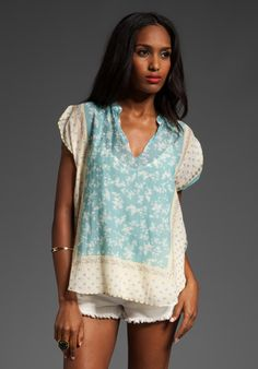 summer top, cotton lawn or voile