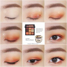 Day Eye Makeup, Asian Eye Makeup, Makeup Art, Beauty Makeup, Soft Eye Makeup, Korean Makeup Tips, Korean Makeup Tutorials, Makeup Inspo, Makeup Inspiration