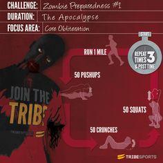 Will you survive the Zombie Apocalypse Preparedness Challenge