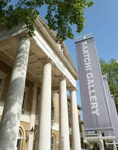 A trip to the Saatchi Gallery, modern art in Chelsea, London.