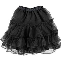 St Martins Women's Grace-Tu Black Tutu Skirt ($30) ❤ liked on Polyvore featuring skirts, bottoms, saias, black, layered skirt, black tutu skirt, black layered skirt, black knee length skirt and black net skirt