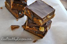 Paleo gluten-free snickers bar recipe Maybe if one day I'll make it