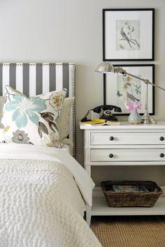headboard + nightstand