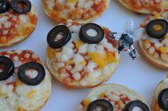 Monster mini pizzas!