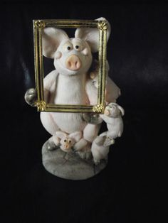 Piggin-Smile-Collectible-World-Collectors-Club-Piece-for-1998-complete