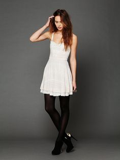 Free People Twinkle and Twirl Fit and Flare Dress at Free People Clothing Boutique