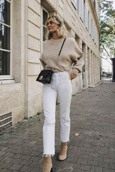 – lässiges Herbst-Outfit, Winter-Outfit, Stil, Outfit-Inspiration, tausendjähr… You are in the right place about knitting ideas Here we offer you the most beautiful pictures about. Spring Outfit Women, Winter Outfits For Teen Girls, Chic Winter Outfits, Autumn Outfits, Cold Summer Day Outfit, Summer City Outfits, Beige Outfit, Neutral Outfit, Style Outfits