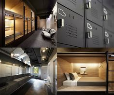 THE POD CAPSULE HOTEL BY FORMWERKZ ARCHITECTS