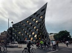 AQSO's flexible-shaped 'shoreditch hotel' blends with east london's urban fabric