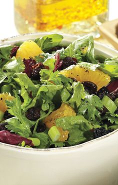Delicious Orange, Berry Blend and Herb Salad and other great recipes from Sunsweet<sup>®</sup>