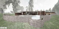 Take A Virtual Tour Of A Frank Lloyd Wright House That Was Never Built  - ELLEDecor.com