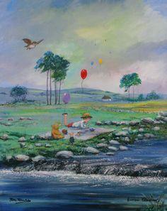Winnie-the-Pooh Four Seasons Suite Spring by Peter Ellenshaw & Harrison Ellenshaw