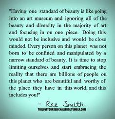 So unbelievably true #beauty #diversity