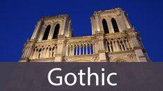 Gothic Art History from Goodbye-Art Academy