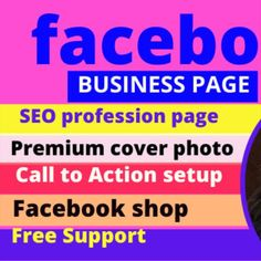 Now a days Facebook Marketing is very important to any business platform.Because we can promote to millions of real and active customers all over the world by this. I can write effective product descriptions, Video making, Image editing,Facebook off page & on page SEO.  1.Grow your Facebook  business page to world-wide  2. Targeted customer  3.Promote your product  4. Link, image and video on Facebook Facebook Business, Facebook Marketing, Digital Marketing, Image Editing, Video Editing, Seo Professional, Target Customer, On Page Seo, Advertise Your Business