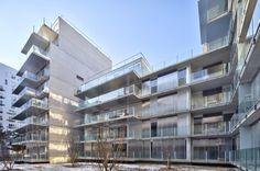73 Apartments ZAC Seguin Rives de Seine – Lot B3B / Philippe Dubus Architectes   ArchDaily