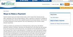 Ed Financial bill pay