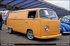 Custom VW Type 2 Bay Window Panel Van