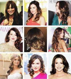 Danneels gorgeous hair.