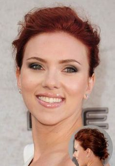 Scrlett Johansson Red Hair ColorMaybe too red?